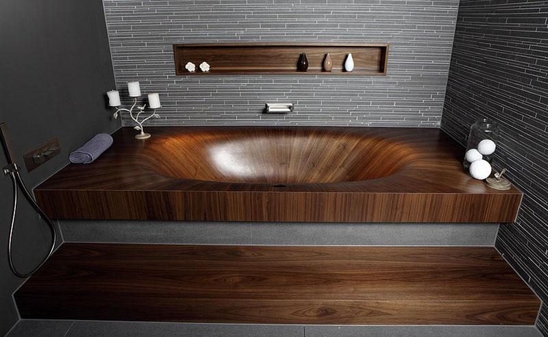 Wooden Bathtub Laguna Basic 800x