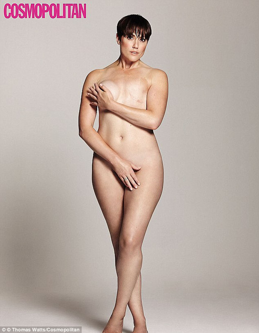 Hannah Foxley, naked after mastectomy 1024