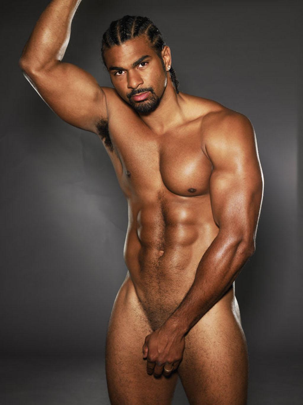 Boxer David Haye Naked 1024