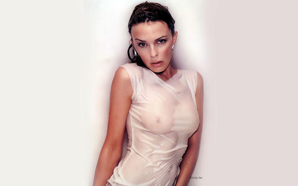 Kylie Minogue wet Dress 1024