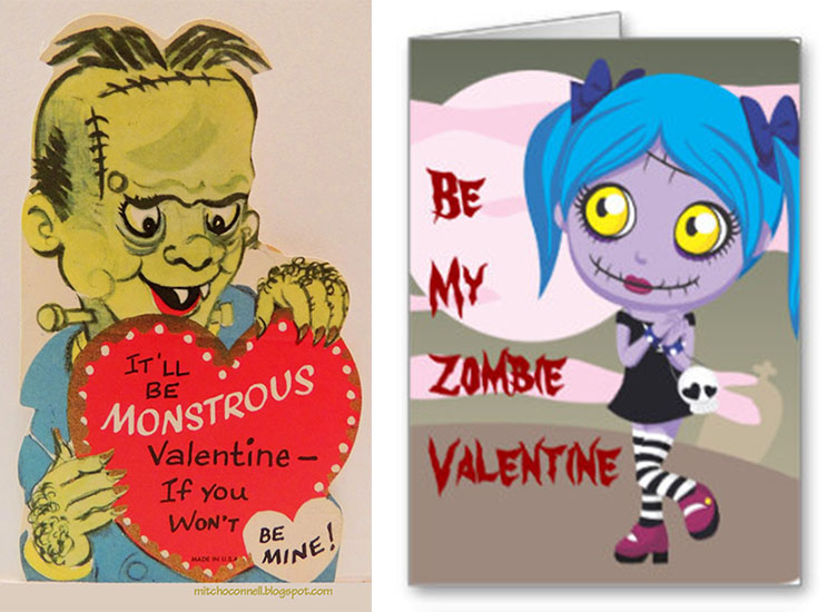 Valentines Greetings – Zombie Valentines Cards