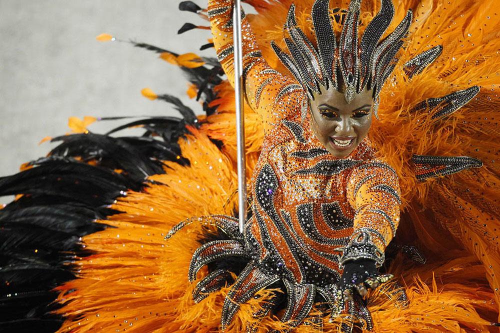 Carnival in Rio de Janeiro; Costume
