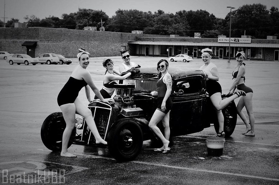 Beatnik Beauties car wash 900x598